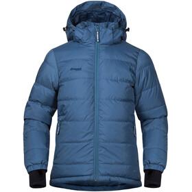 Bergans Boys Rena Down Jacket Steel Blue/Dark Steel Blue